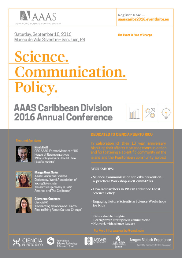 AAAS Caribe 2016 Annual Conference