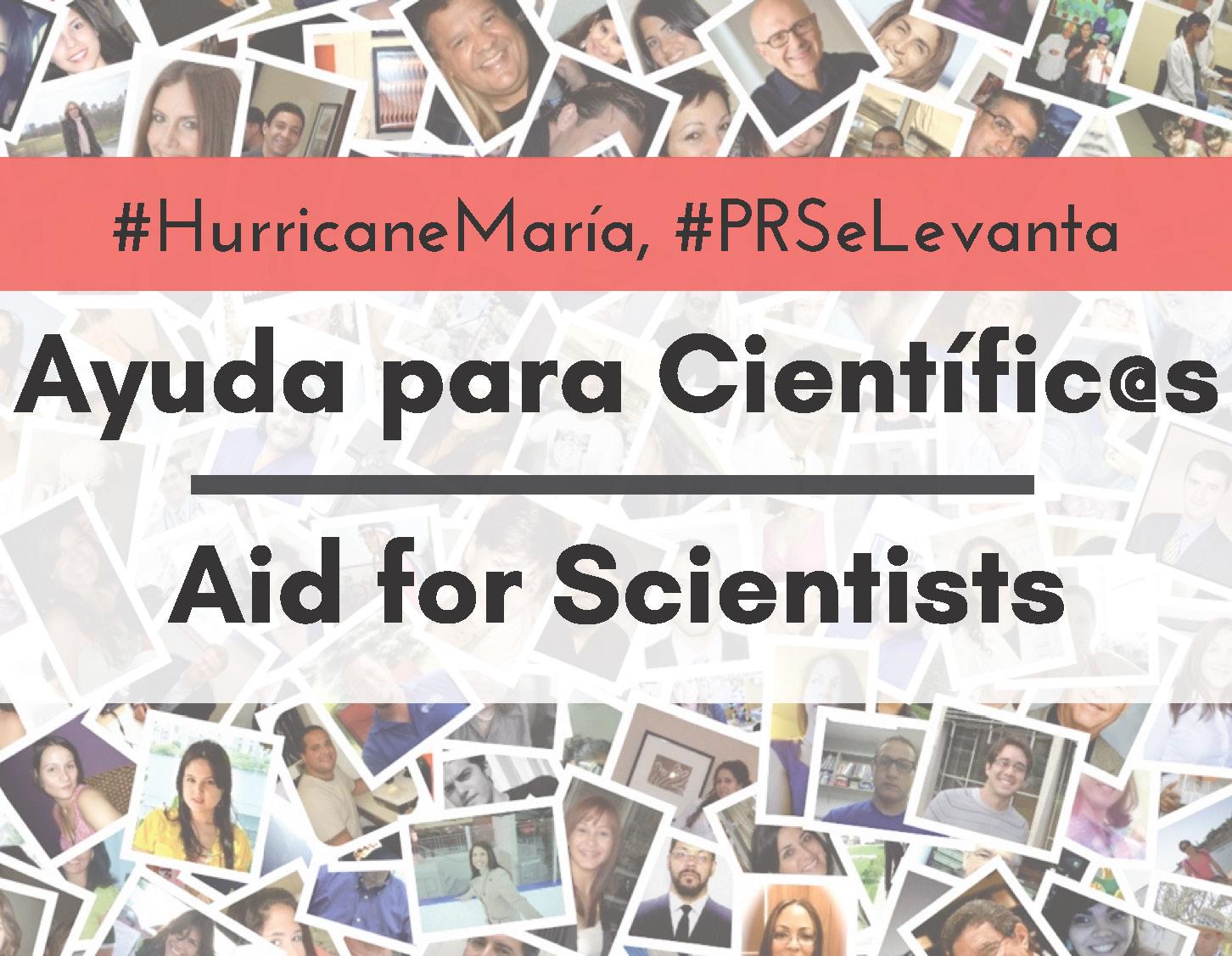 Huracán María - Ayuda, fondos y apoyo para investigadores y ...