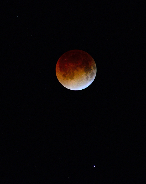 luna de sangre (blood moon)