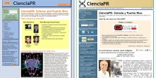 Changes in CienciaPR website in first 5 years