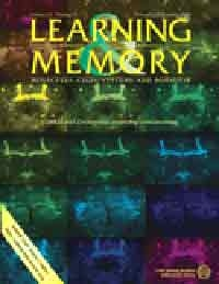 Portada de la revista Learning & Memory