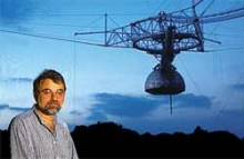 Dr. Daniel Altschuler at the Arecibo Observatory