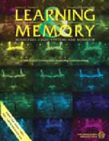 Portada de la revista Learning & Memory