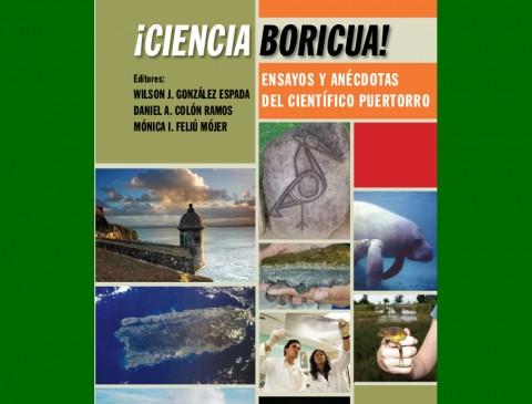 Carátula del libro ¡Ciencia Boricua!