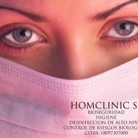 Imagen de Homclinic Bioseguridad Desinfección
