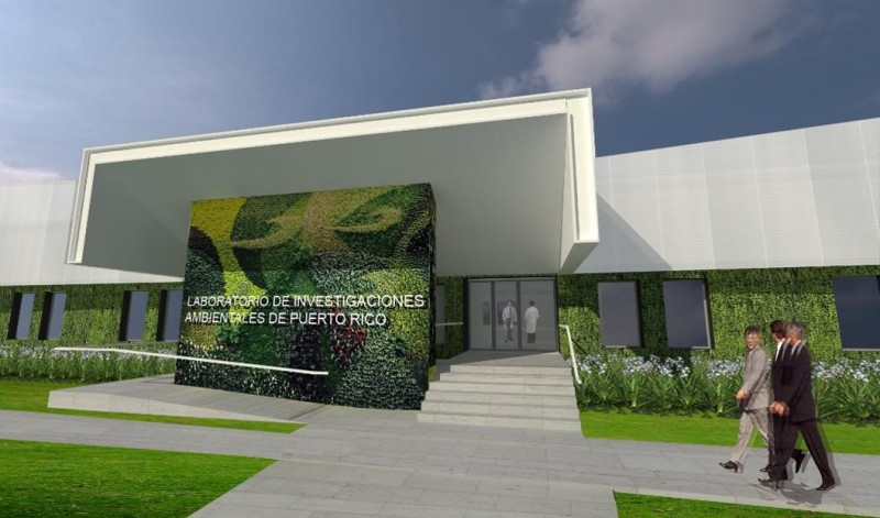 Puerto Rico Environmental Research Laboratory rendering